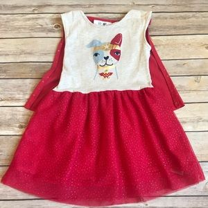Baby Gap Wonder Woman Dog Dress & Cape